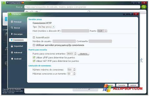Ekrānuzņēmums MediaGet Windows XP