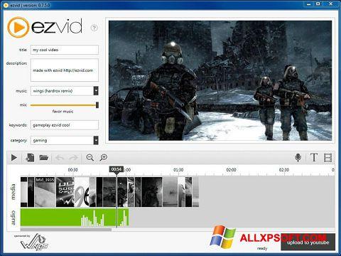 Ekrānuzņēmums Ezvid Windows XP