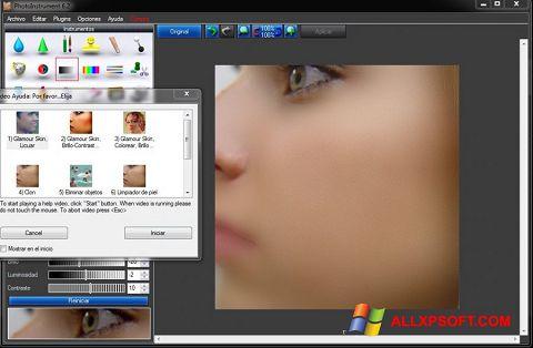 Ekrānuzņēmums PhotoInstrument Windows XP
