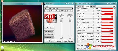 Ekrānuzņēmums ATITool Windows XP