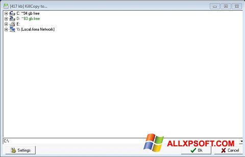 Ekrānuzņēmums KillCopy Windows XP