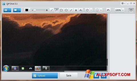 Ekrānuzņēmums QIP Shot Windows XP
