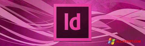 Ekrānuzņēmums Adobe InDesign Windows XP