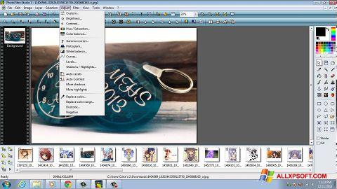 Ekrānuzņēmums PhotoFiltre Studio X Windows XP