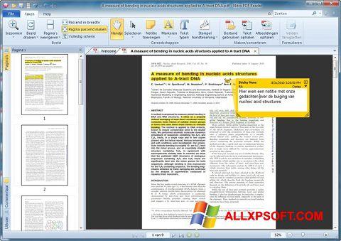 Ekrānuzņēmums Nitro PDF Reader Windows XP
