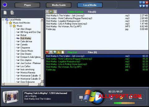 Ekrānuzņēmums Online TV Live Windows XP