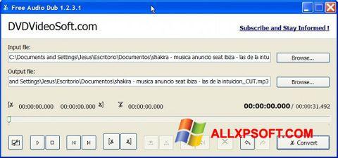 Ekrānuzņēmums Free Audio Dub Windows XP