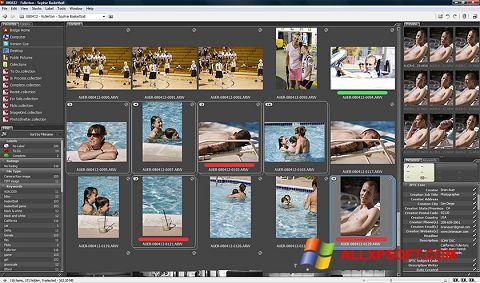 Ekrānuzņēmums Adobe Bridge Windows XP