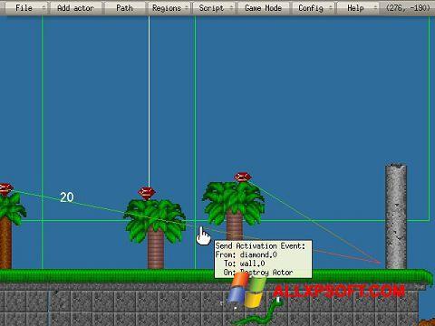 Ekrānuzņēmums Game Editor Windows XP