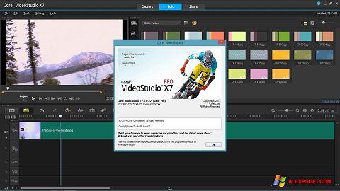 Ekrānuzņēmums Corel VideoStudio Windows XP