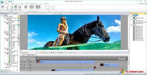 Ekrānuzņēmums Free Video Editor Windows XP