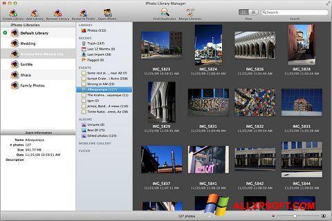Ekrānuzņēmums iPhoto Windows XP