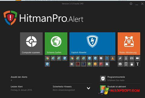 Ekrānuzņēmums HitmanPro Windows XP