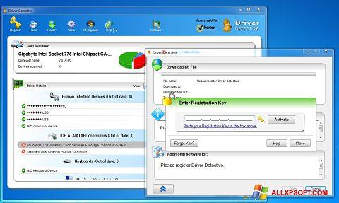 Ekrānuzņēmums Driver Detective Windows XP