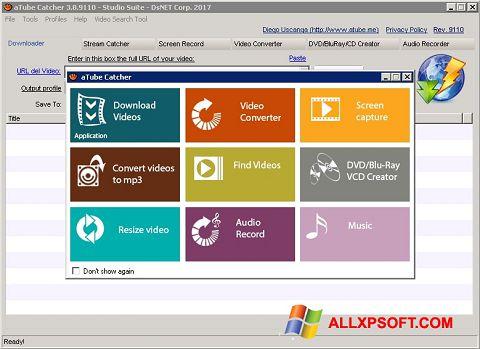 Ekrānuzņēmums aTube Catcher Windows XP