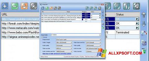 Ekrānuzņēmums VideoGet Windows XP