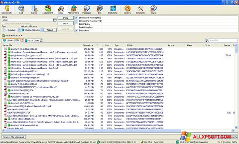 Ekrānuzņēmums eMule Windows XP