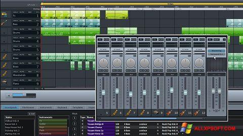 Ekrānuzņēmums MAGIX Music Maker Windows XP