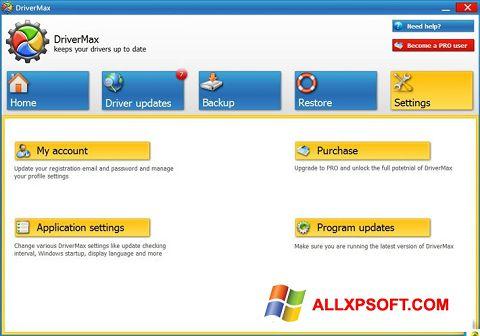 Ekrānuzņēmums DriverMax Windows XP