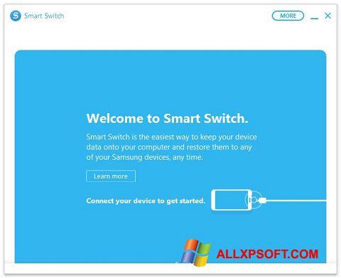 Ekrānuzņēmums Samsung Smart Switch Windows XP