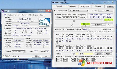 Ekrānuzņēmums SetFSB Windows XP