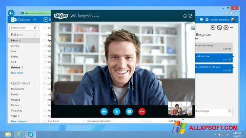 Ekrānuzņēmums Skype Windows XP